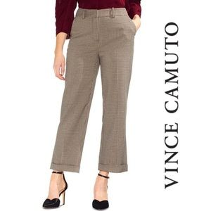 Vince Camuto Houndstooth Ankle Trousers, 8